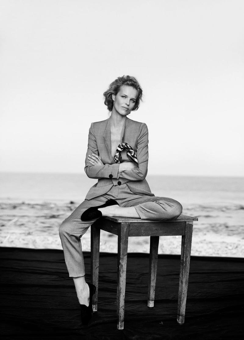 Eva Herzigova stars in Giorgio Armani's spring-summer 2016 campaign