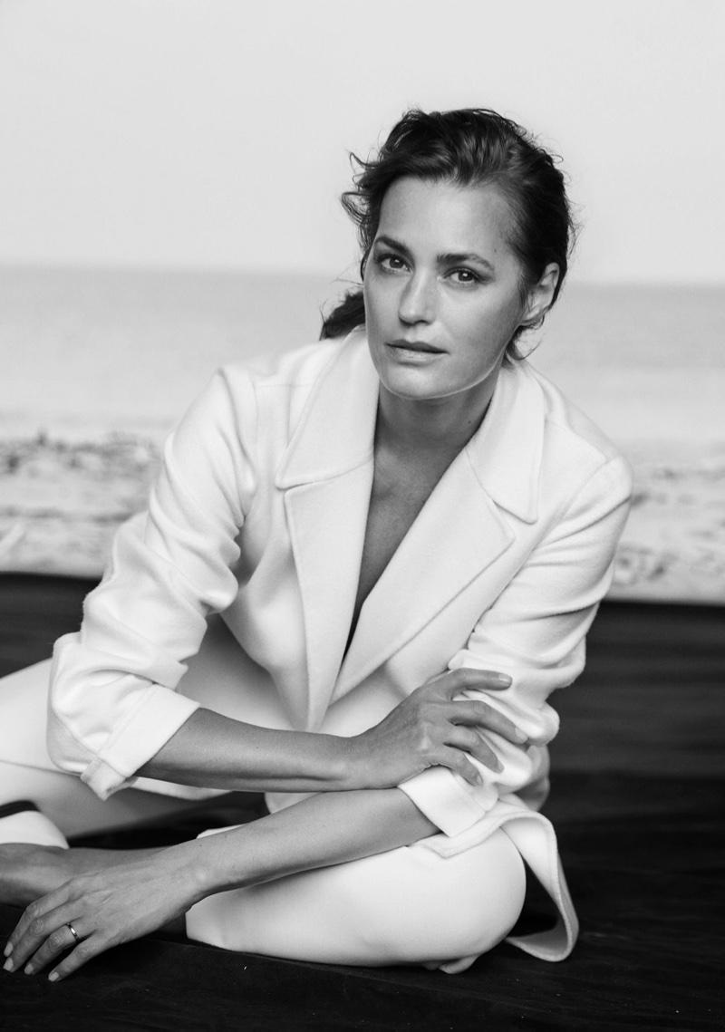 Yasmin Le Bon stars in Giorgio Armani's spring-summer 2016 campaign