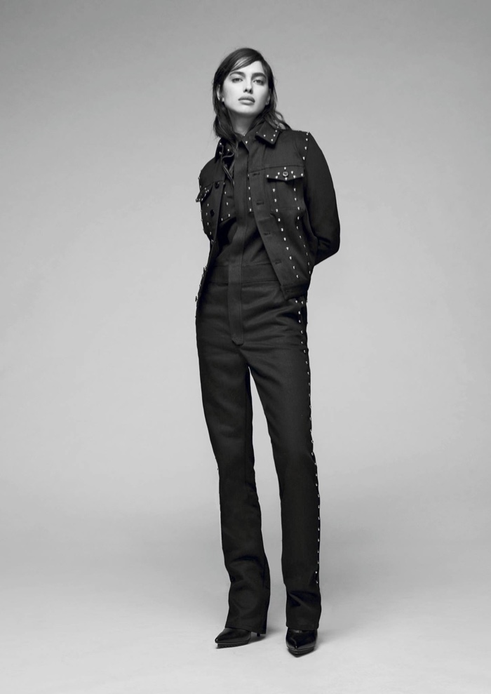Irina Shayk Goes High Fashion In Givenchy`s Pre-Fall Lookbook
