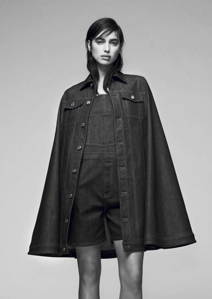 Irina Shayk Goes High Fashion in Givenchy's Pre-Fall Lookbook