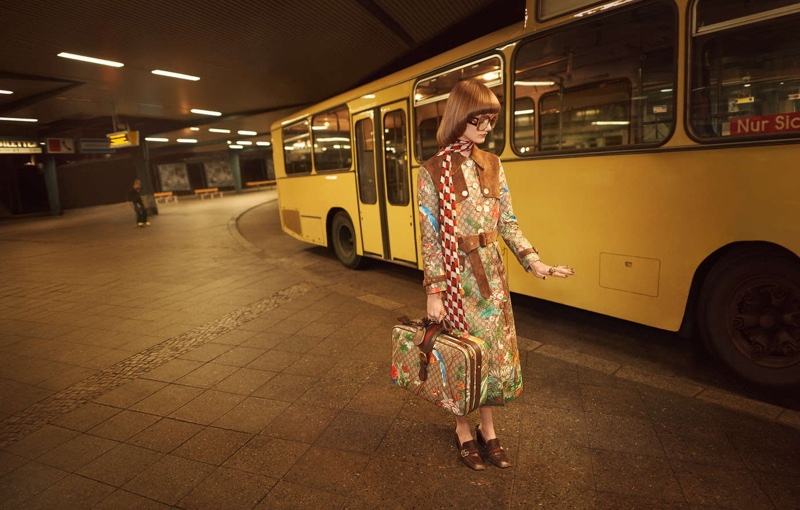 Gucci Takes On Berlin with Spring 2016 Ads