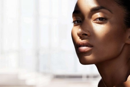 NATURAL BEAUTY: Anais Mali stars in a spring 2016 shoot for H&M Beauty