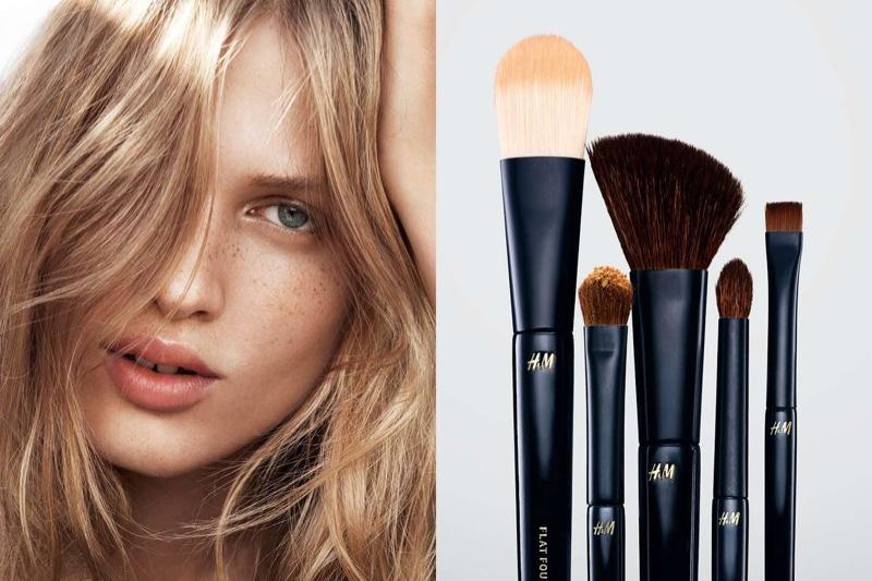 MAKEUP BRUSHES: H&M Beauty Eyeshadow Brush and Foundation Brush