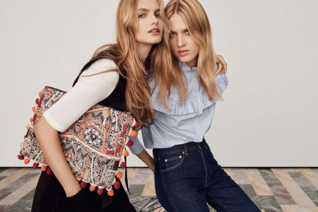 Feminine Expression: H&M Features Modern 70s Style