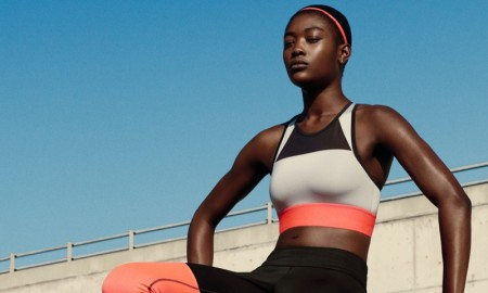 H&M Sport's spring line including running leggings, sports bras, tanks and more.