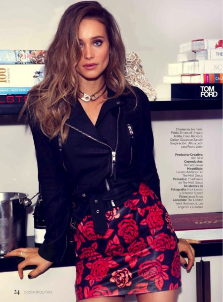 Hannah Davis Turns Up the Glam in Cosmopolitan Mexico Cover Story