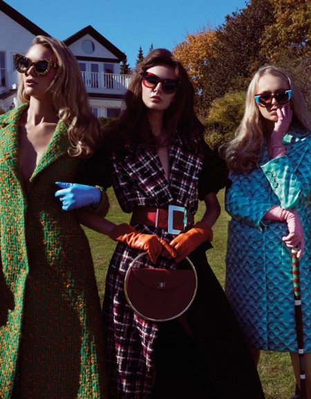 The Cool Clique: Vogue Taiwan Takes On Modern 'Heathers' Style