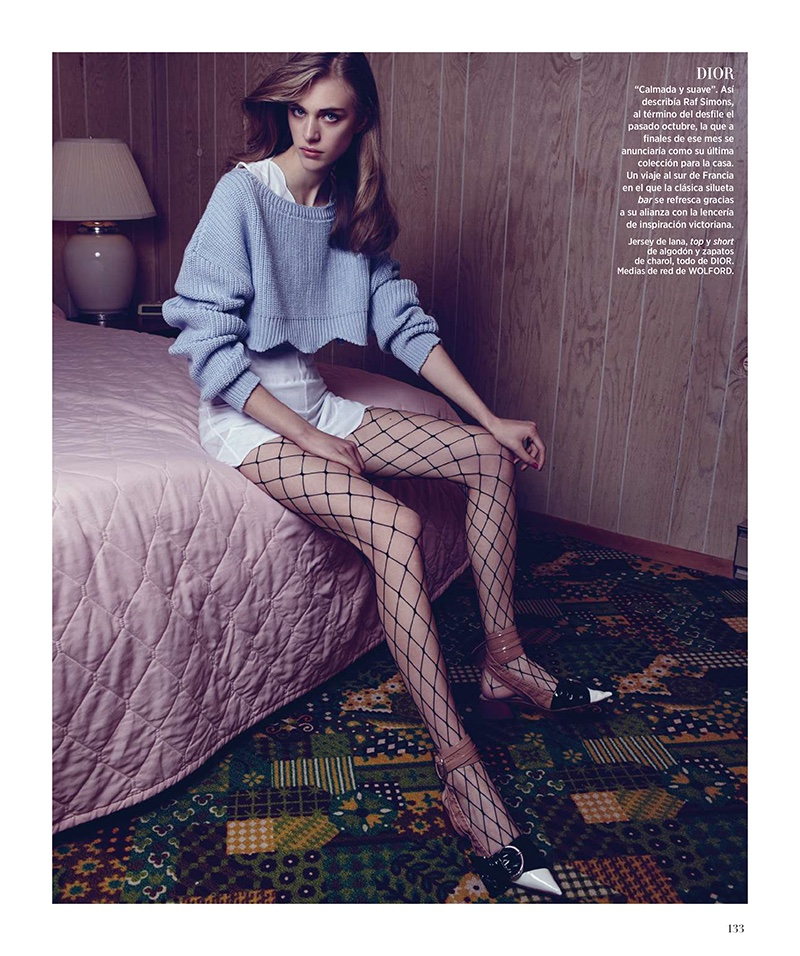 Motel Primavera: Nagi Sakai Shoots the Spring Collections for BAZAAR Spain