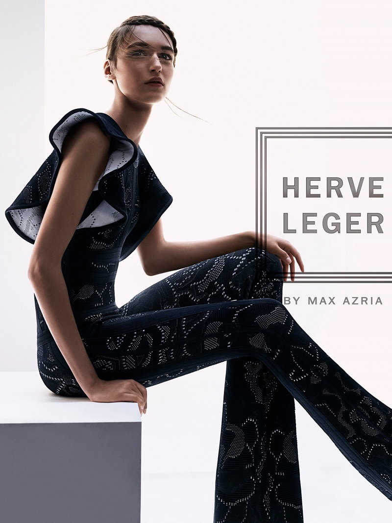 An image from Herve Leger's spring 2016 campaign