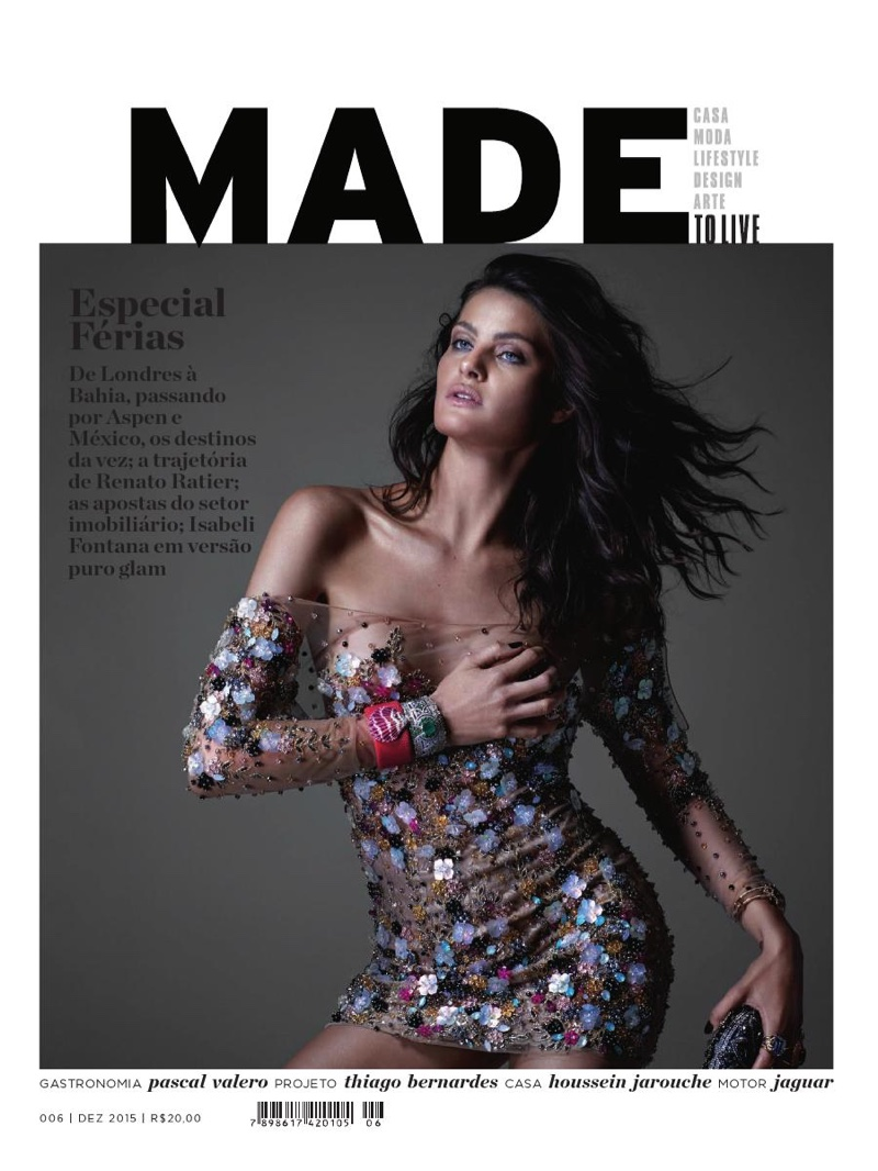 Isabeli Fontana Takes On Seductive Style for Made Magazine