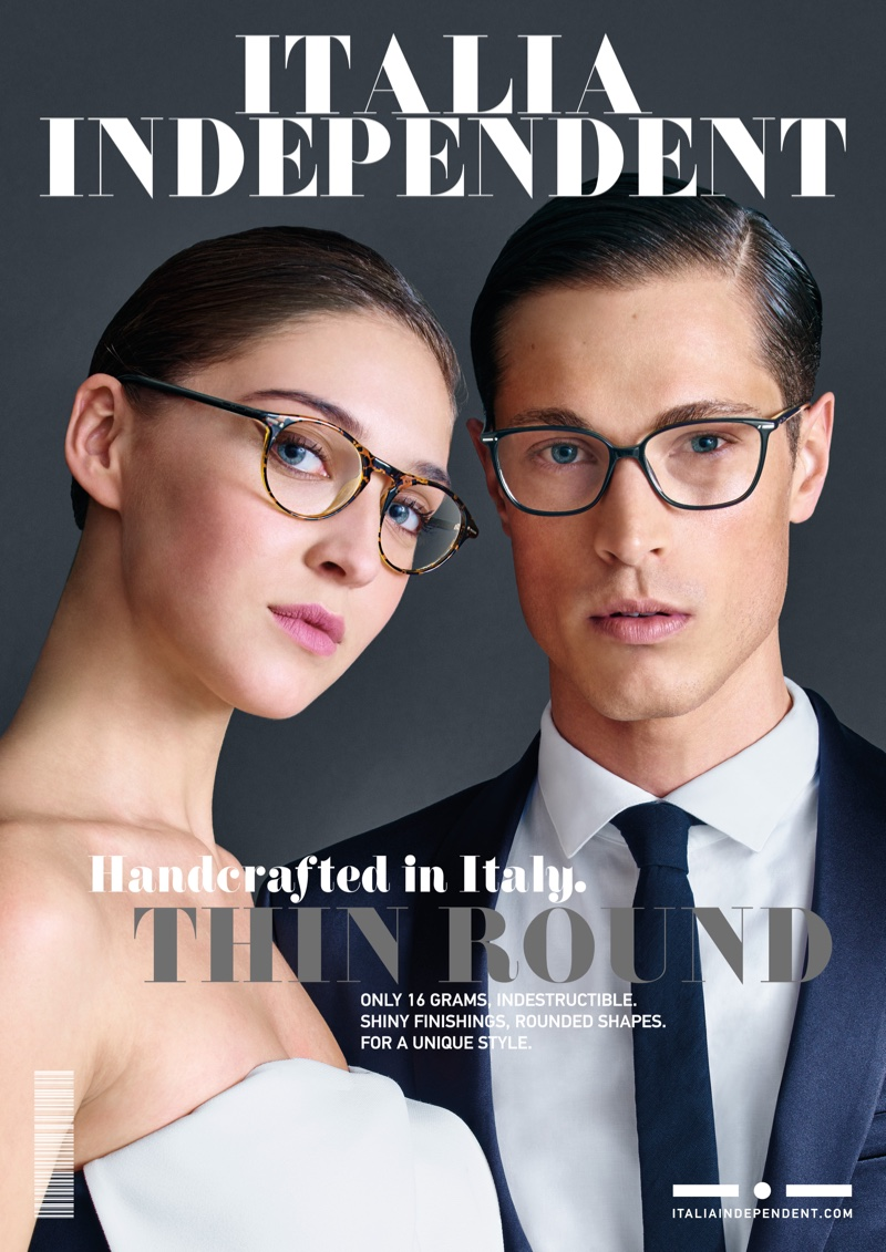 Italia Independent Goes Glossy for Spring 2016 Campaign