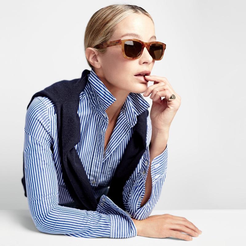 J. Crew Irving Rectangle Sunglasses