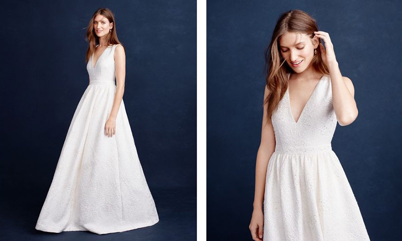 See J. Crew`s Gorgeous Spring 2016 Wedding Dresses