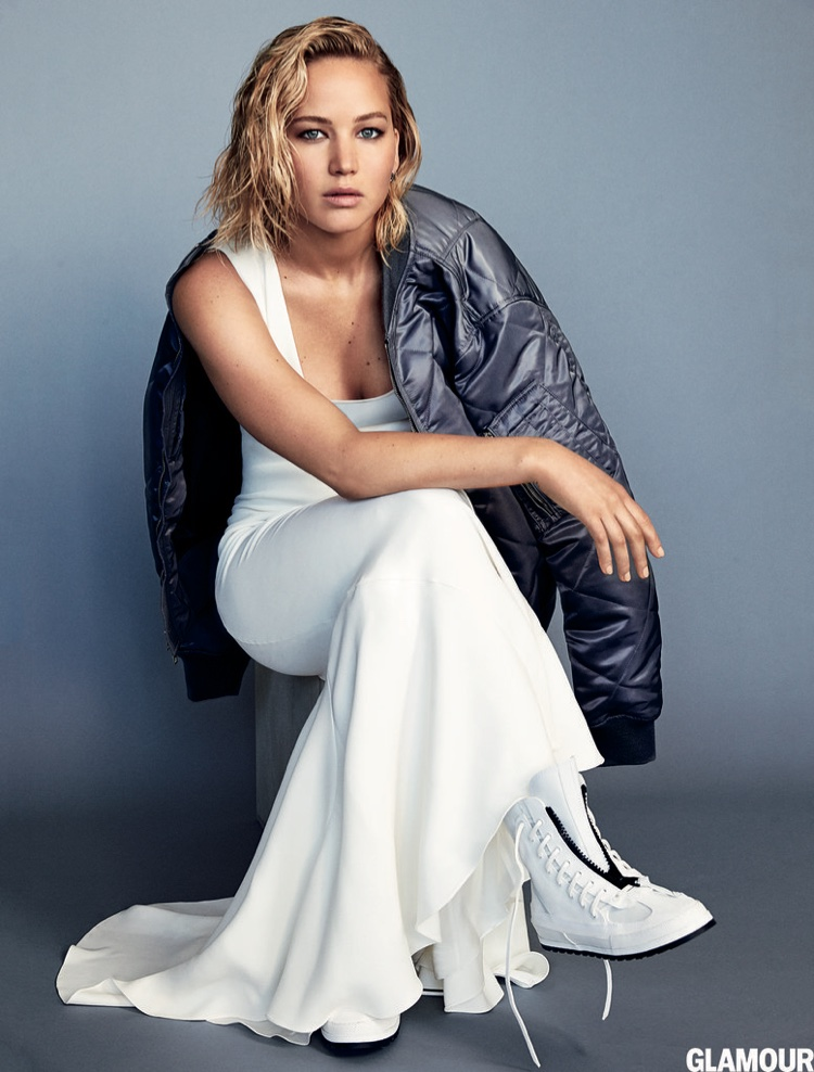 Jennifer tells the magazine that she is not trying to put on act for her public persona