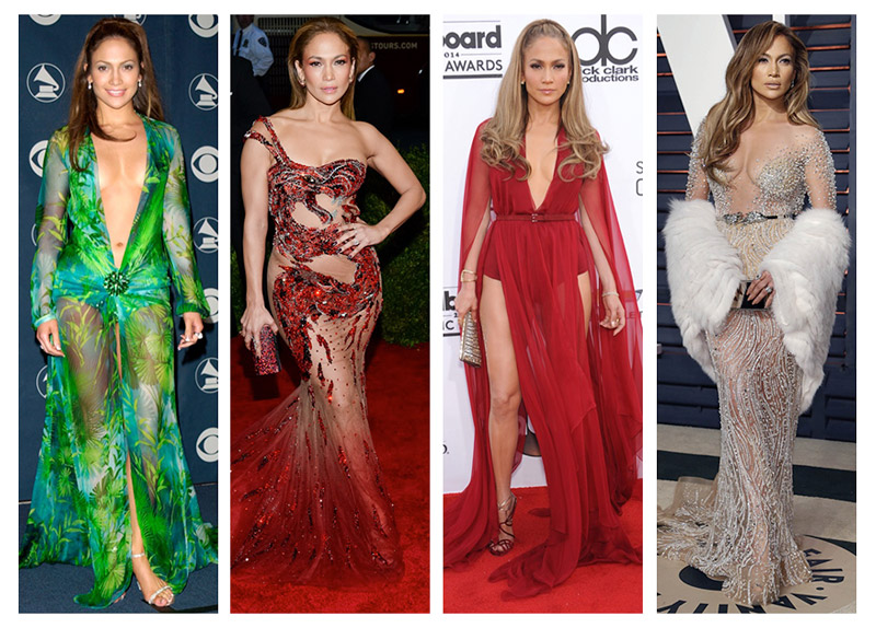 Jennifer Lopez`s Most Memorable Red Carpet Dresses