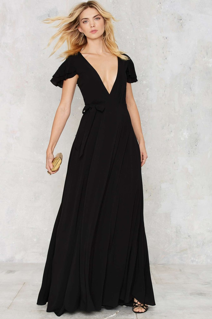 The Jetset Diaries Black Maxi Dress $248