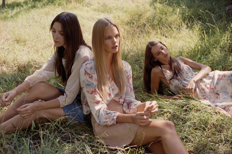 Joie Channels Hippie Style with Spring 2016 Campaign