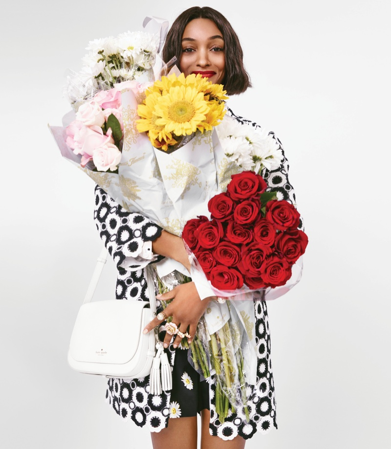Jourdan Dunn Leads Kate Spade`s Eclectic Spring 2016 Campaign