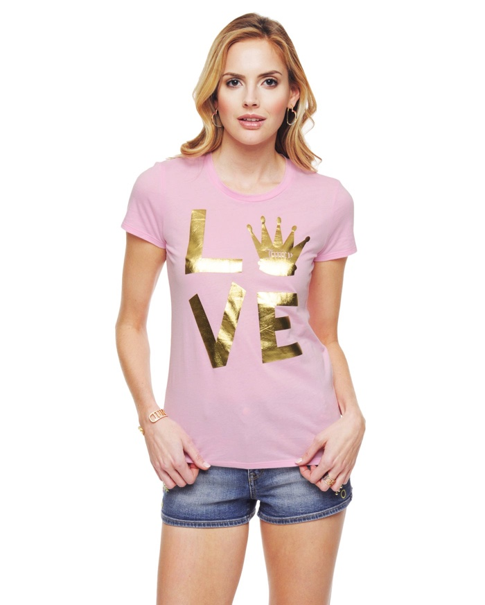 Juicy Couture Love Crown Graphic T-Shirt