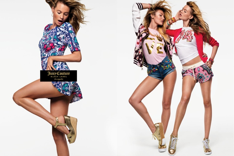 Inez & Vinoodh shoot Juicy Couture's spring 2016 campaign