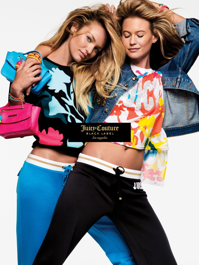 An image from Juicy Couture's spring-summer 2016 campaign