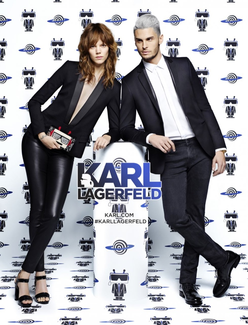Freja Beha Erichsen Fronts Karl Lagerfeld`s Spring 2016 Ads