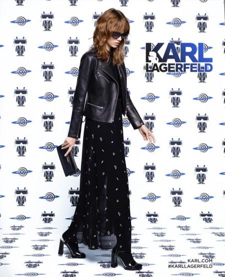 Freja Beha Erichsen Fronts Karl Lagerfeld's Spring 2016 Ads