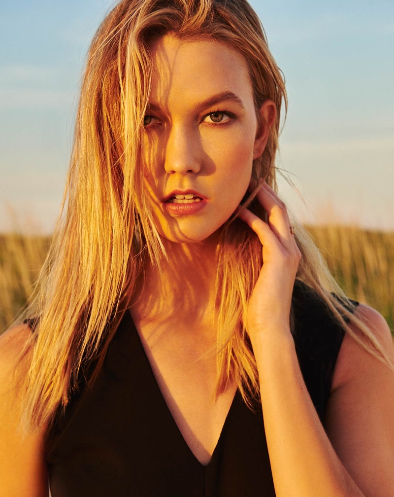 Karlie Kloss Embraces Feminine Looks In Marella`s Spring 2016 Campaign