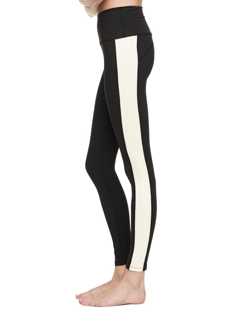 Kate Spade High Waist Tuxedo Striped Leggings