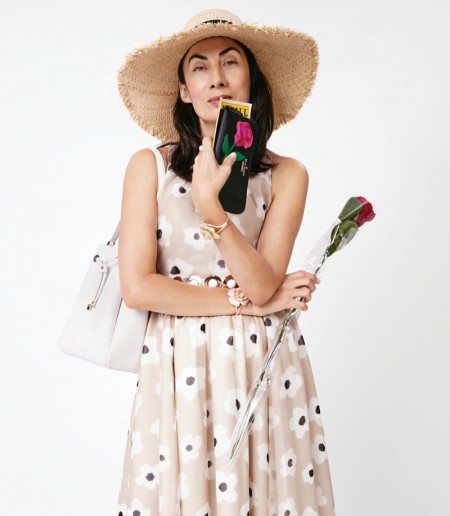 Jourdan Dunn Leads Kate Spade's Eclectic Spring 2016 Campaign