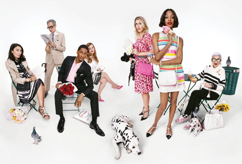An image from Kate Spade's spring-summer 2016 campaign