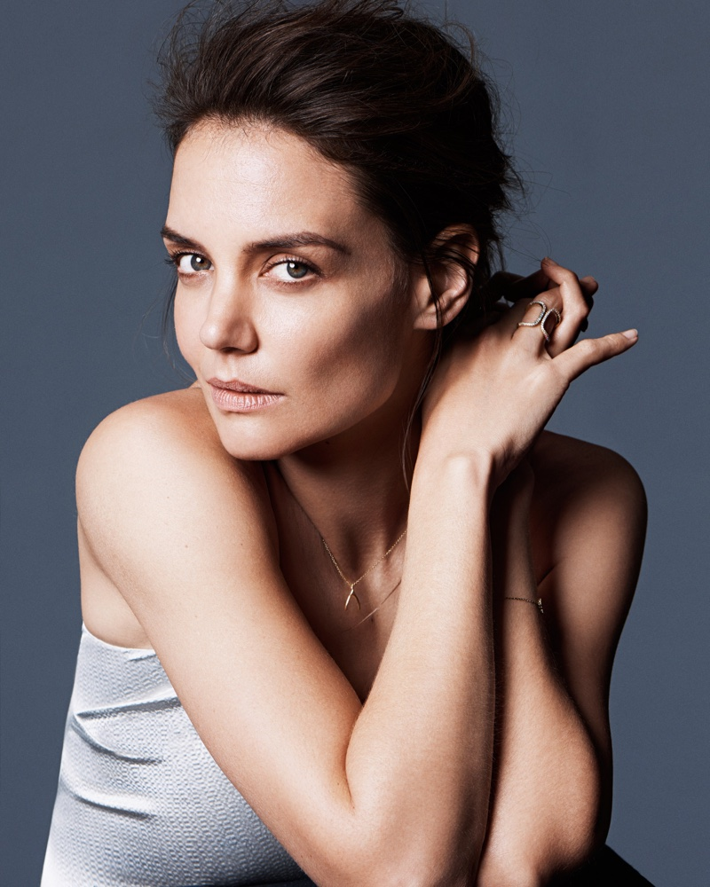 Katie Holmes opens up to the magazine about growing older