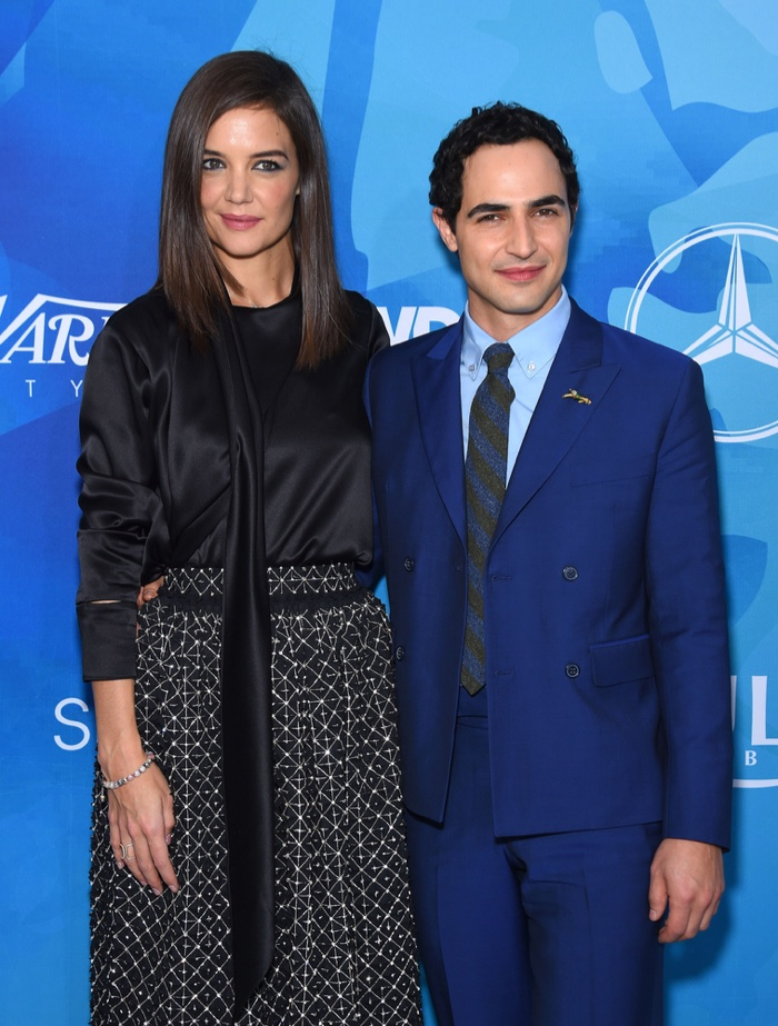 NOVEMBER 2015: Katie Holmes and Zac Posen attend Variety Magazine and WWD Stylemakers event. Photo: DFree / Shutterstock.com