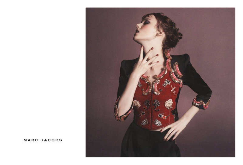 Kiki Willems stars in Marc Jacobs' spring 2016 campaign