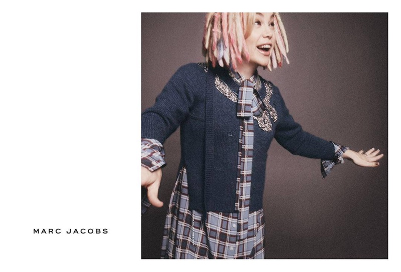 Lana Wachowski stars in Marc Jacobs' spring 2016 campaign