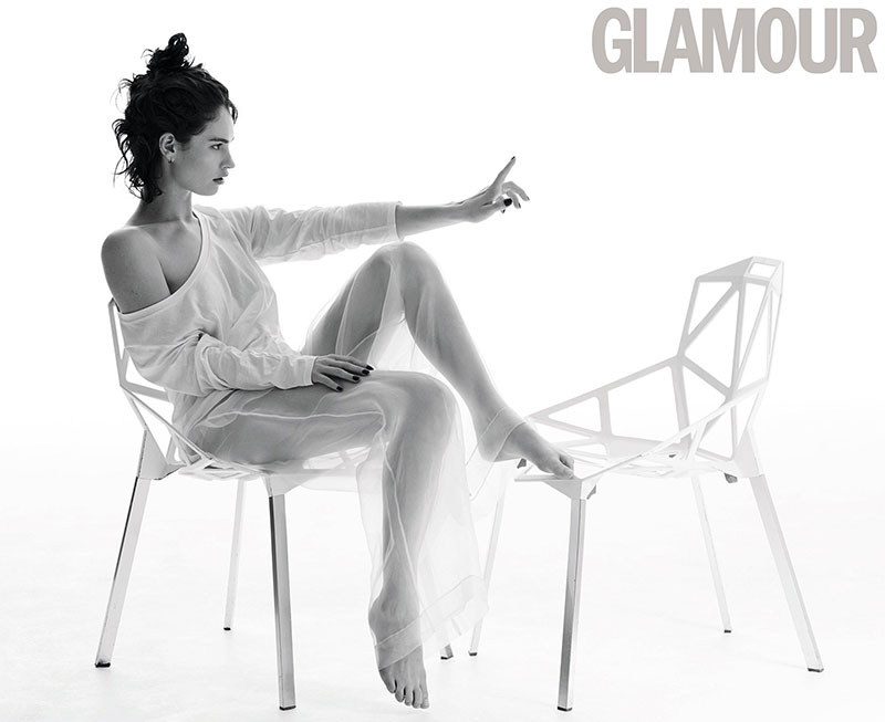 Lily James stars in Glamour UK's March issue