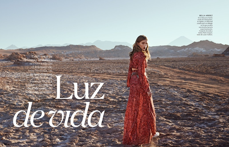 Luz De Vida: Vogue Mexico Features Louis Vuitton`s Cruise 2016 Collection