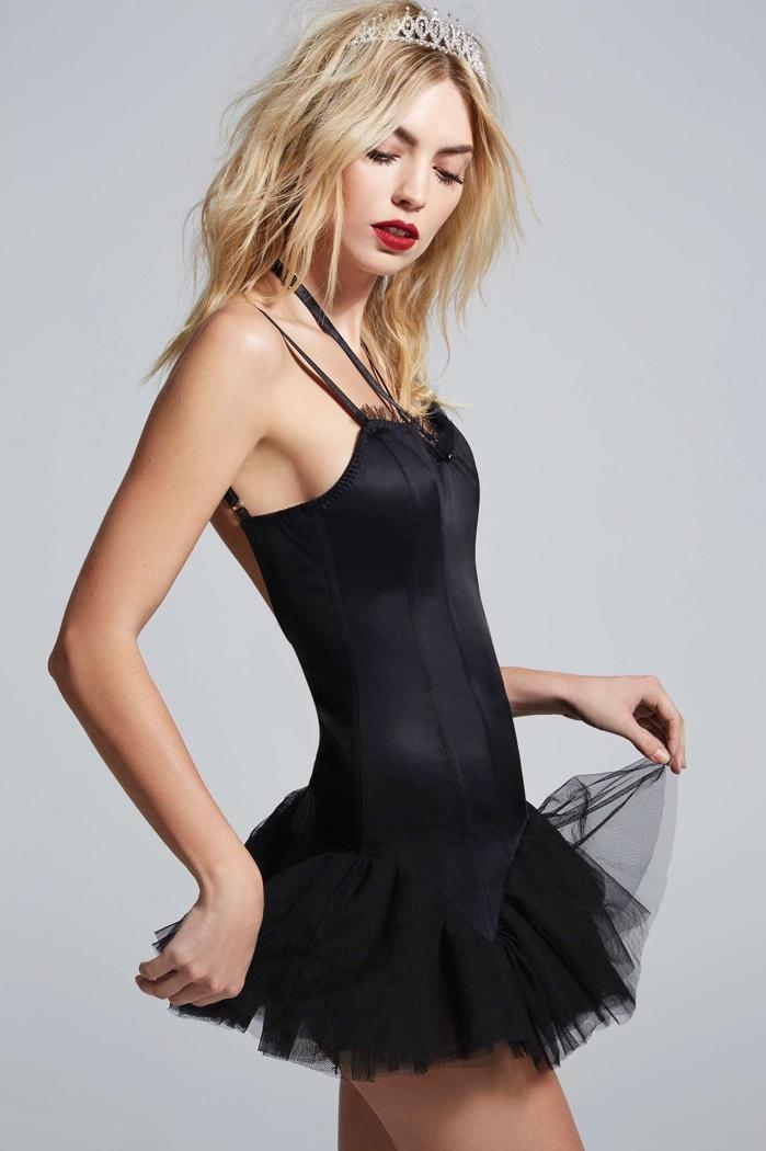 Courtney Love x Nasty Gal Satin Tutu Dress