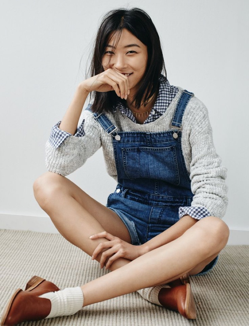 Madewell Spotlights Denim Essentials in January Lookbook