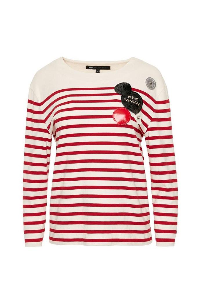 Marc Jacobs Breton Stripe Shirt