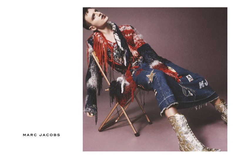 Milk stars in Marc Jacobs' spring 2016 campaign