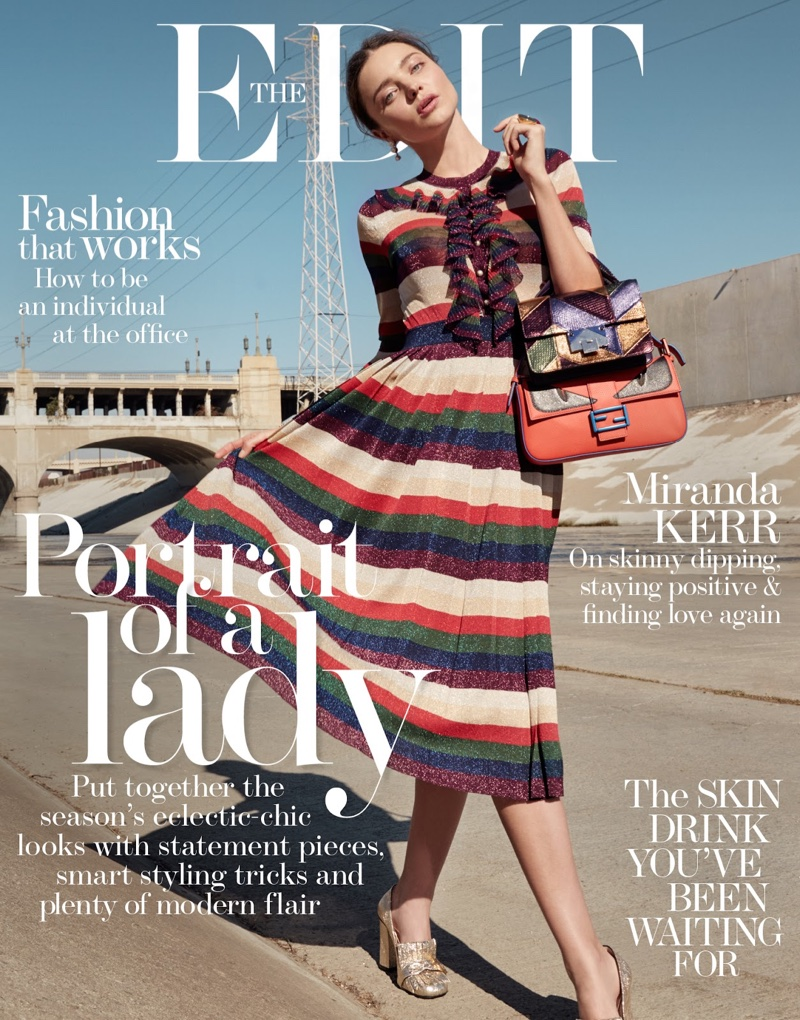 Miranda Kerr Wears The Resort Season`s Most Ladylike Looks In The Edit