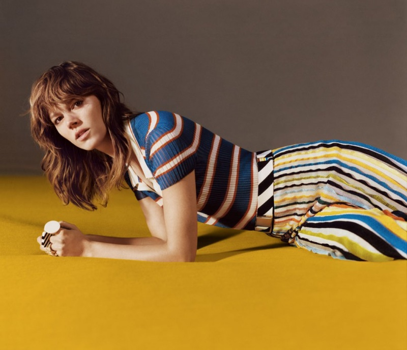 Freja Beha Erichsen Embraces Colorful Knits In Missoni`s Spring Ads