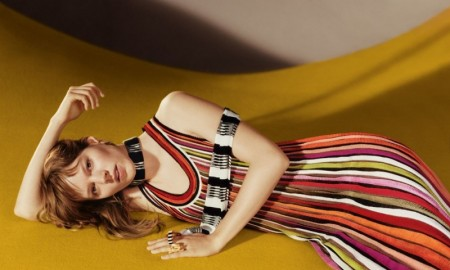 An image from Missoni's spring-summer 2016 campaign