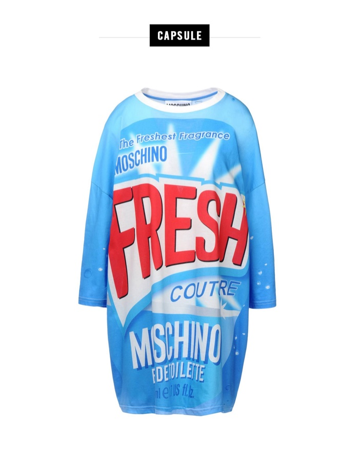 Moschino Fresh Short Dress