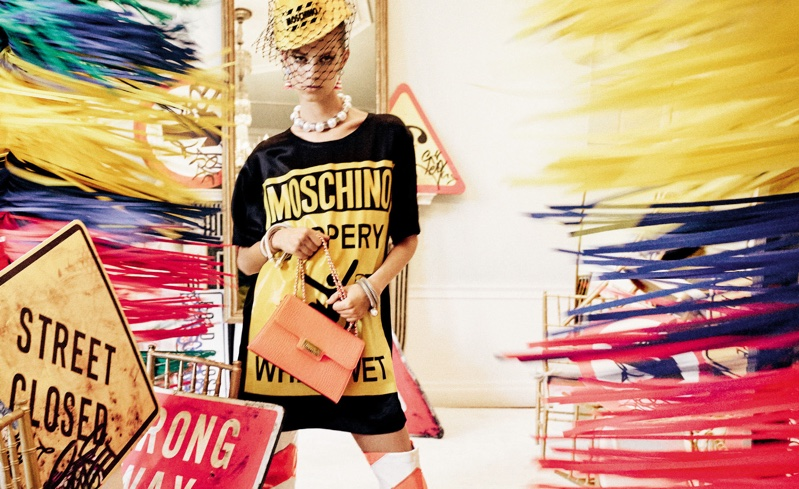 Lexi Boling stars in Moschino's spring-summer 2016 campaign