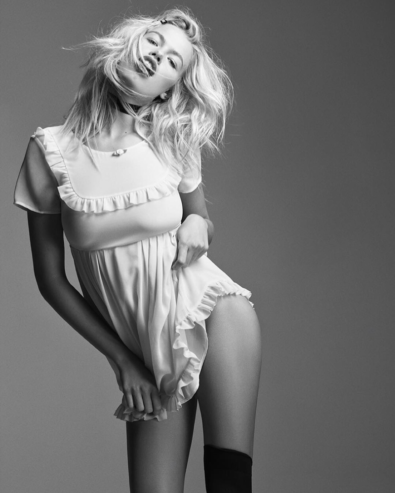 Nasty Gal shares a glimpse at its Courtney Love collaboration.