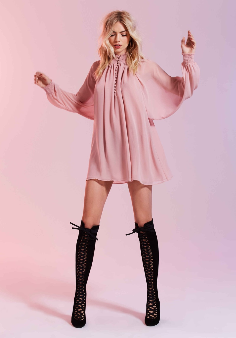 Nasty Gal's Valentine's Day Lookbook Is Red & Pink All Over