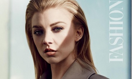 Natalie Dormer poses in FASHION Magazine's January issue