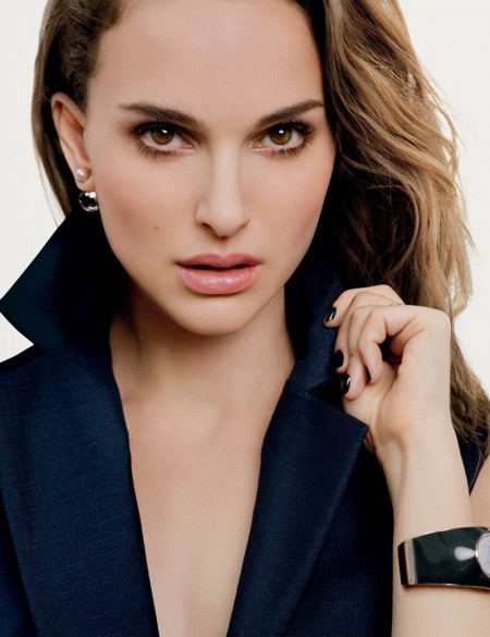 Natalie Portman Stuns in New DiorSkin Forever Makeup Ad